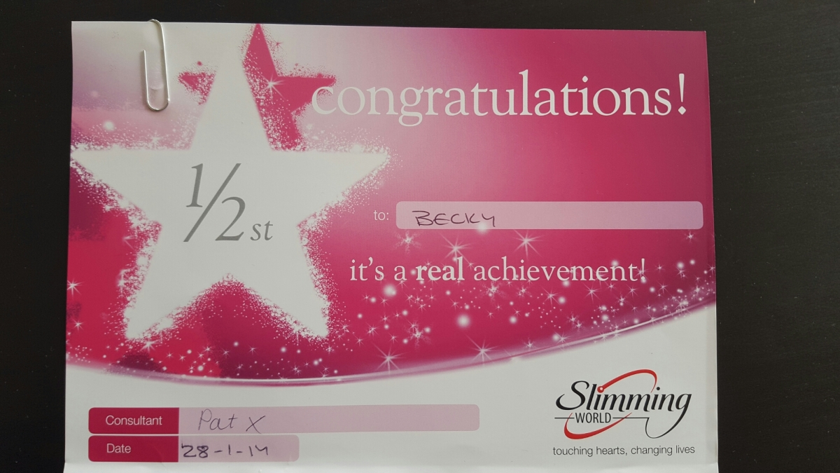 Slimming world weeks 9 10 bekbek New slimming world plan